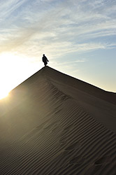 Man on the dune